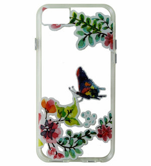 MILK & HONEY Clear Back Case for iPhone 6s/7 - Butterfly Pattern