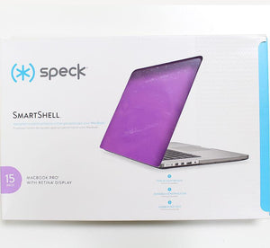 Speck SmartShell Front & Back Body Cover for MacBook Pro 15 inches - Purple