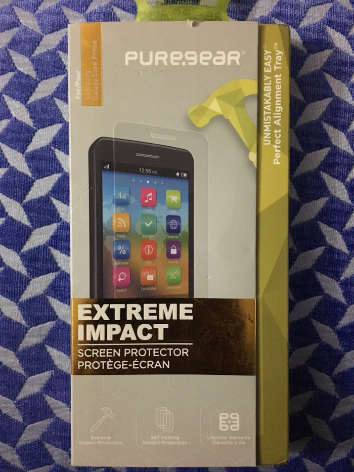 PureGear Extreme Impact Screen Protector for Samsung Galaxy Core Prime