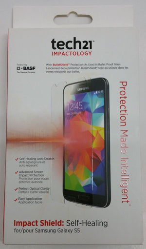 Tech21 Impact Shield  Self Healing Screen Protector for Samsung Galaxy S5