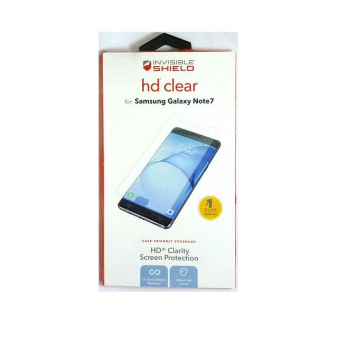 ZAGG Invisible Shield HD Dry Screen Protector for Samsung Galaxy Note7