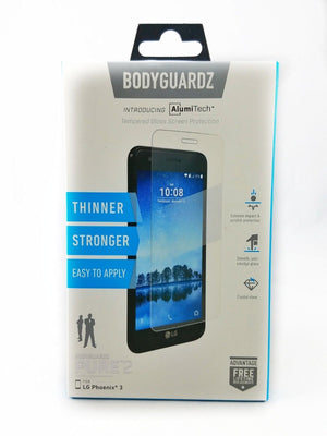 BodyGuardz Pure 2 Tempered Glass for LG Phoenix 3
