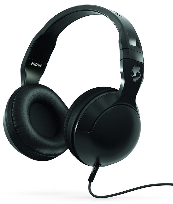Skullcandy Hesh 2 Over-Ear Headphones with Mic, Black