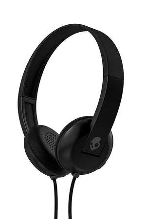 Black, Wired : Skullcandy S5URHT-456 Uproar. On-Ear Headphone with Taptech - Black