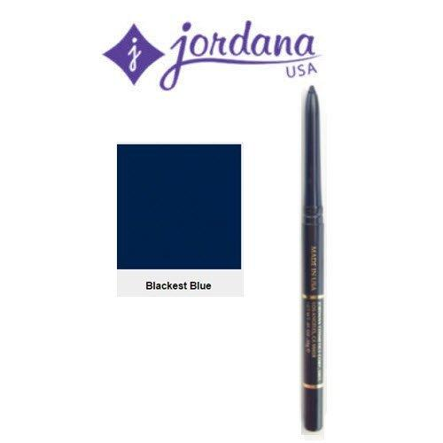 Jordana Easyliner Retractable Pencil for Eyes - Blackest Blue