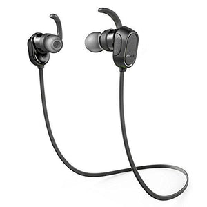 Anker SoundBuds Sport Bluetooth Headphones - Black