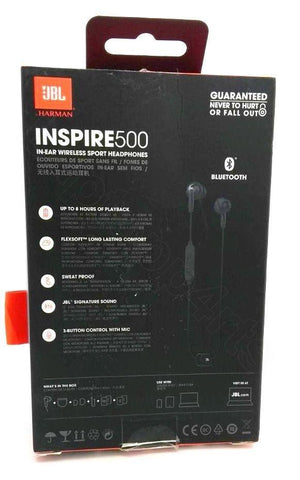 JBL Inspire500  Bluetooth  Headphones - Black