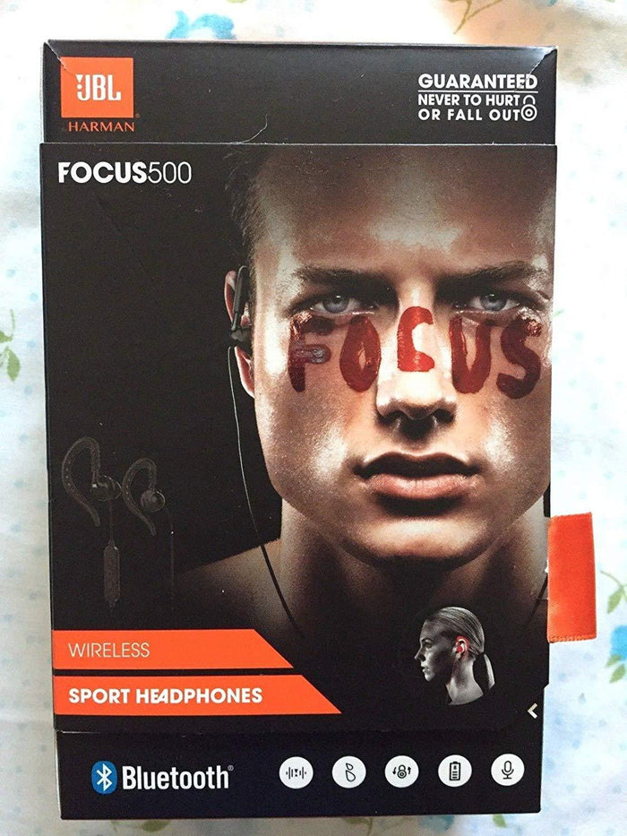 JBL Focus500 Bluetooth Headphones - Black