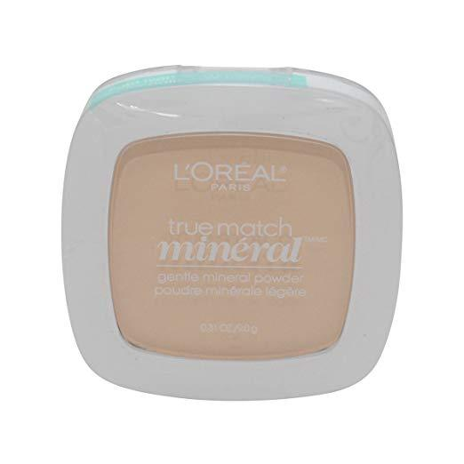 L'Oreal Paris True Match Mineral Powder - W1-2/404 Light Ivory