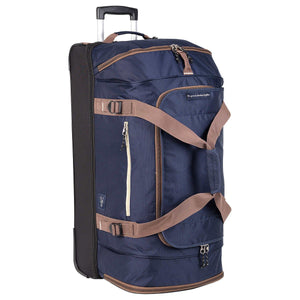 "Skyway Globe Trekker 30"" Rolling Duffel Bag in Blue"