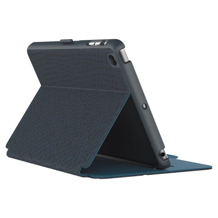 Speck StyleFolio Flip Case for iPad Air 2 -  Rattleskin Dark Grey