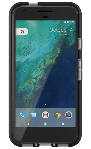 Tech 21 Cell Phone Case for Google Pixel - Smokey/Black
