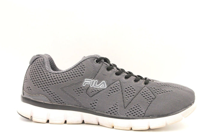 FILA Men's Refractive Memory Foam Athletic Running Shoes Size 10.5 Grey