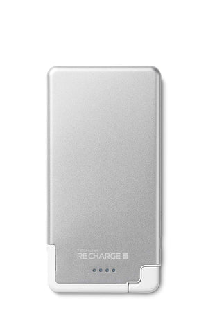 Techlink Recharge 3000mAh Ultrathin Power Charger for iPhone White