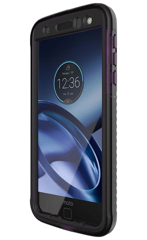 Tech 21 Evo Tactical XT Back Cover for Moto Z Droid - Violet