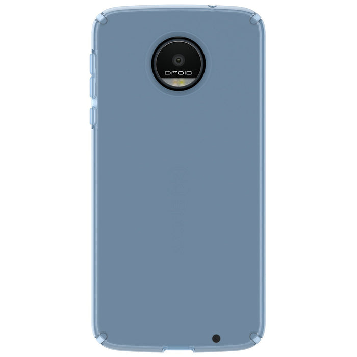 Speck CandyShell Transparent Back Case for Moto Z Droid - Clear Blue
