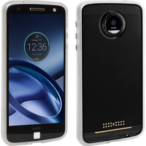 Case-Mate NakedTough Back Cover for Moto Z Droid - Transparent