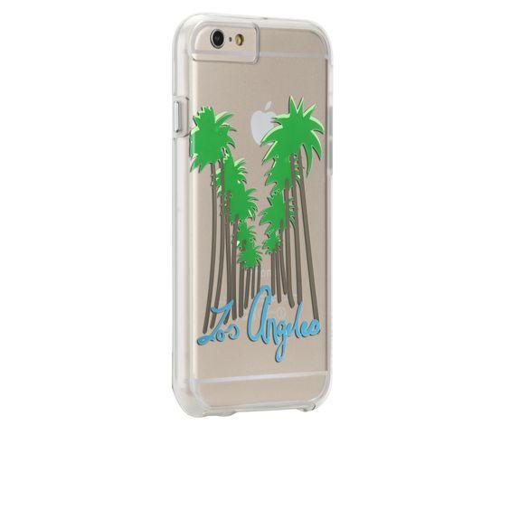 Case-Mate Naked Tough Los Angeles print Back Case for iPhone 6 plus - Transparent