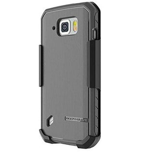 Body Glove Satin Case with Holster Back Cover for Samsung Galaxy S6 Active - Black