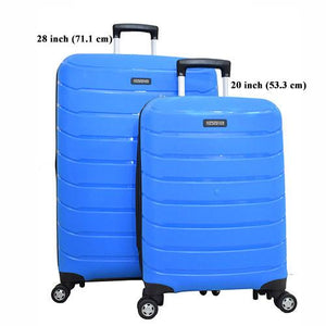 American Tourister Hardside Suitcase Set, Light Blue