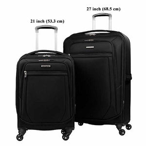 Samsonite ULTRALITE 2 Softside Spinner Luggage set - Black