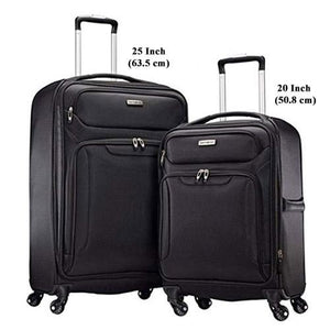 Samsonite Ultralite Extreme 2 Softside Spinner Luggage Set - Black