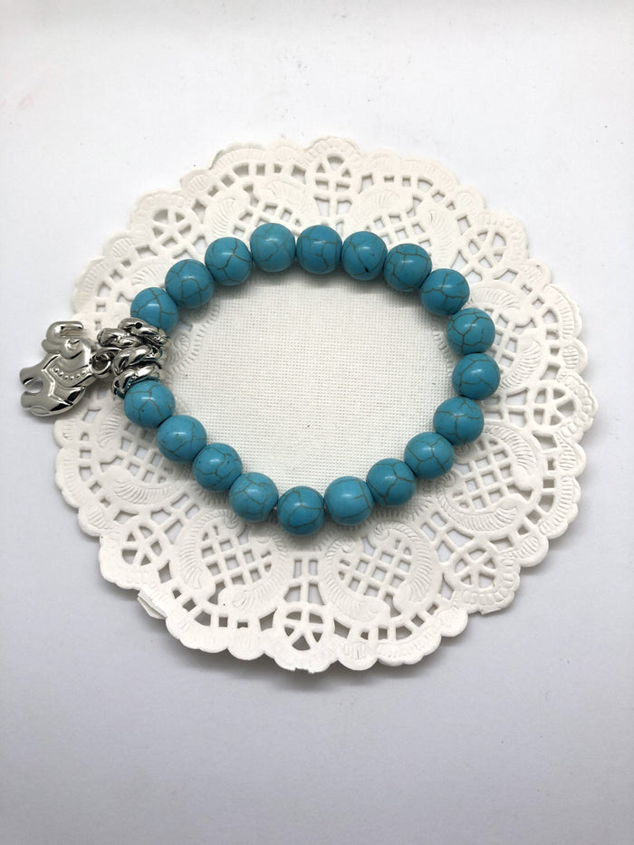 Bracelet - small Bead elephant-BT001