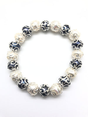 Bracelet - Small Bead with black -BI002