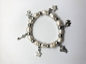 Bracelet - Beads with Star, Key & Elephant-BI003