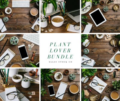 Plant Lover Photo Bundle- 31 photos