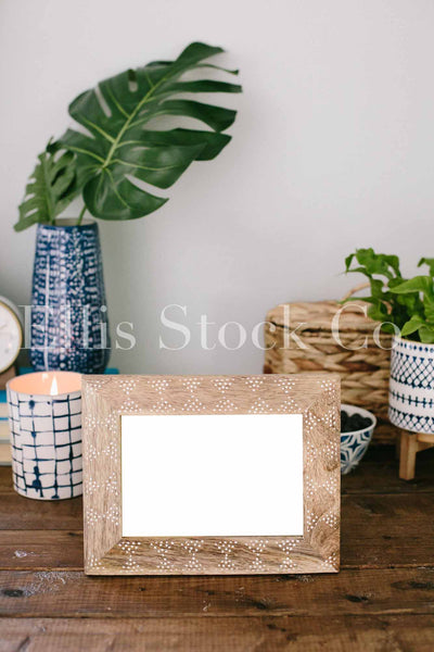 Navy + Cream Workspace 36