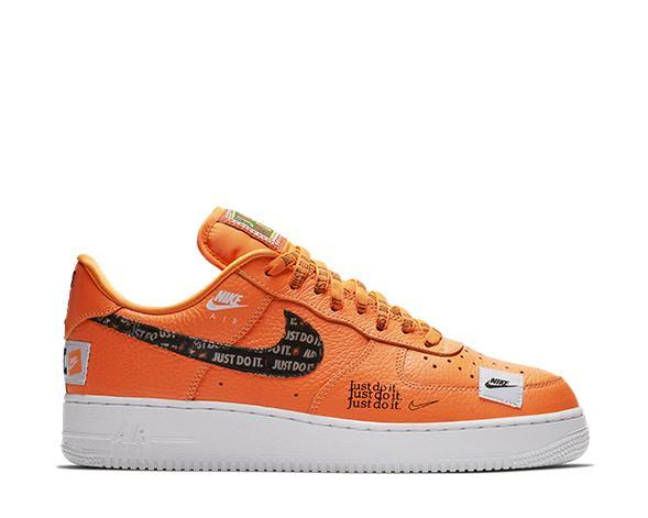 "Nike Air Force 1 '07 PRM ""Just Do It"" Orange"