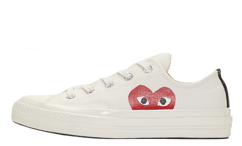 Converse Chuck Taylor All Star 70  x Comme des Garcons x low White