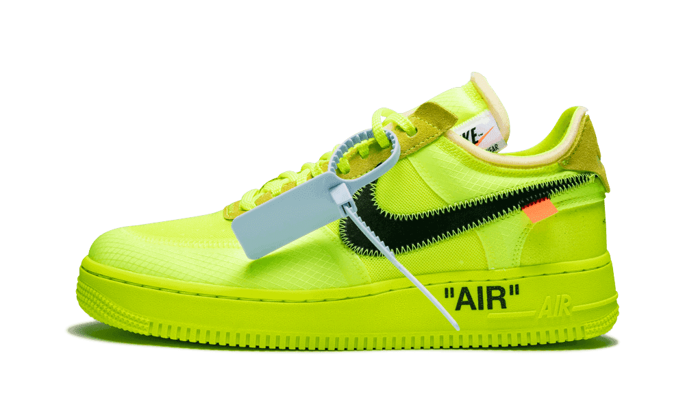 Nike Air White Force Volt Off 1 Low PlOTwiuXZk