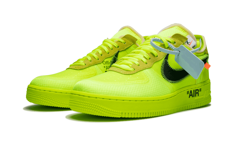 mieux aimé bde60 975d6 NIKE Air Force 1 Low Off-White Volt