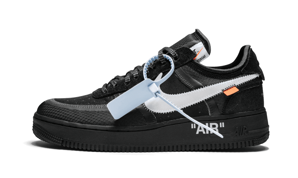 meilleur service 51b20 0eb0e NIKE Air Force 1 Low Off-White Noire