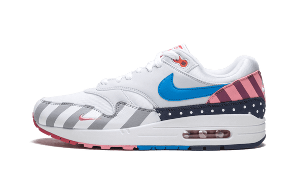 Sneakizy Nike Air Max 1 x Parra - White Pure Platinum