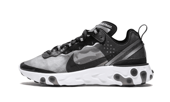Sneakizy chaussure NIKE React Element 87 Anthracite Black
