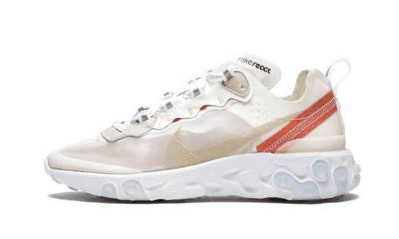 Sneakizy chaussure NIKE React Element 87 Sail Light Bone