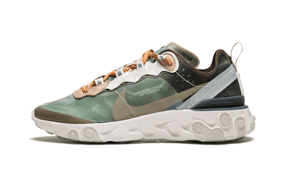 Sneakizy chaussure NIKE React Element 87 Undercover Green Mist