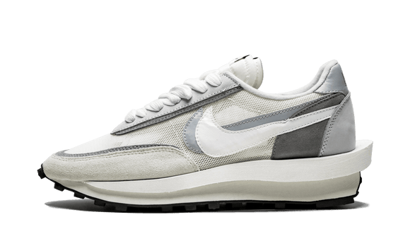 Sneakizy chaussure NIKE Sacai LD Waffle White Grey