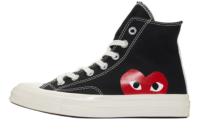 Converse Chuck Taylor All Star 70  x Comme des Garcons x Hi Black