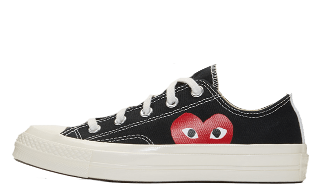 Converse Chuck Taylor All Star 70  x Comme des Garcons x low Black