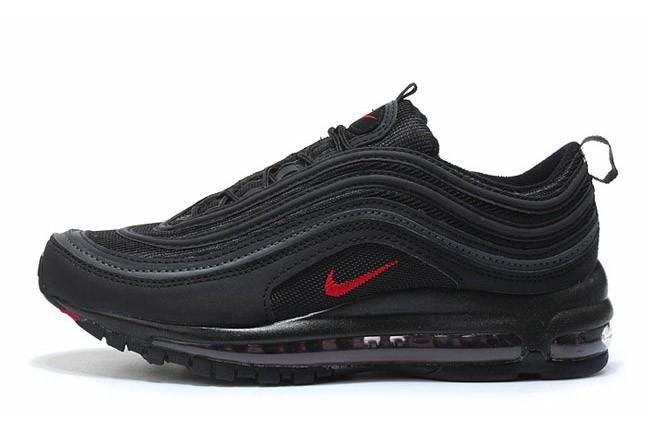 taille 40 eaee2 4ba87 NIKE AIR MAX 97 NOIRE/ROUGE