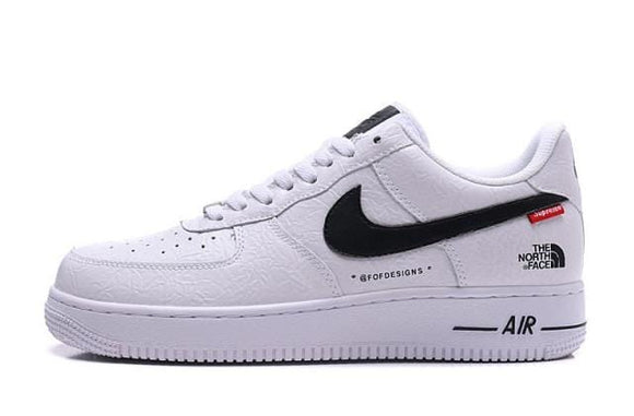 Sneakizy Nike Air Force 1 '07 x Supreme x North Face Blanche