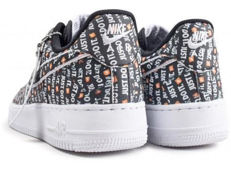 "Nike Air Force 1 ""Just Do It"" Premium noire"