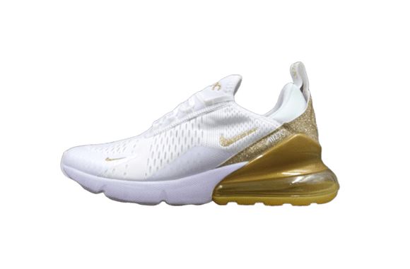 Sneakizy Nike Air Max 270 Blanc/Or