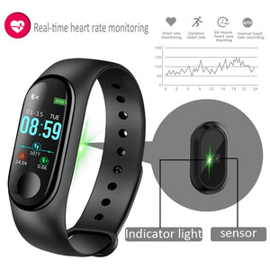 M3 fitness band Smart Sport Watch