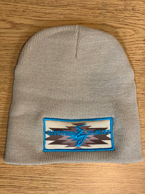 S.J. Simple Beanie (Sandstone Aztec)