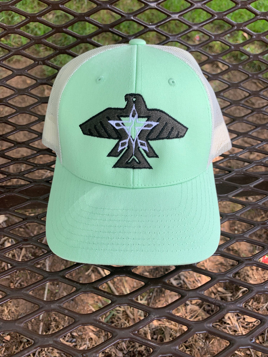 S.J. Trucker Hat (Mint/Cream)